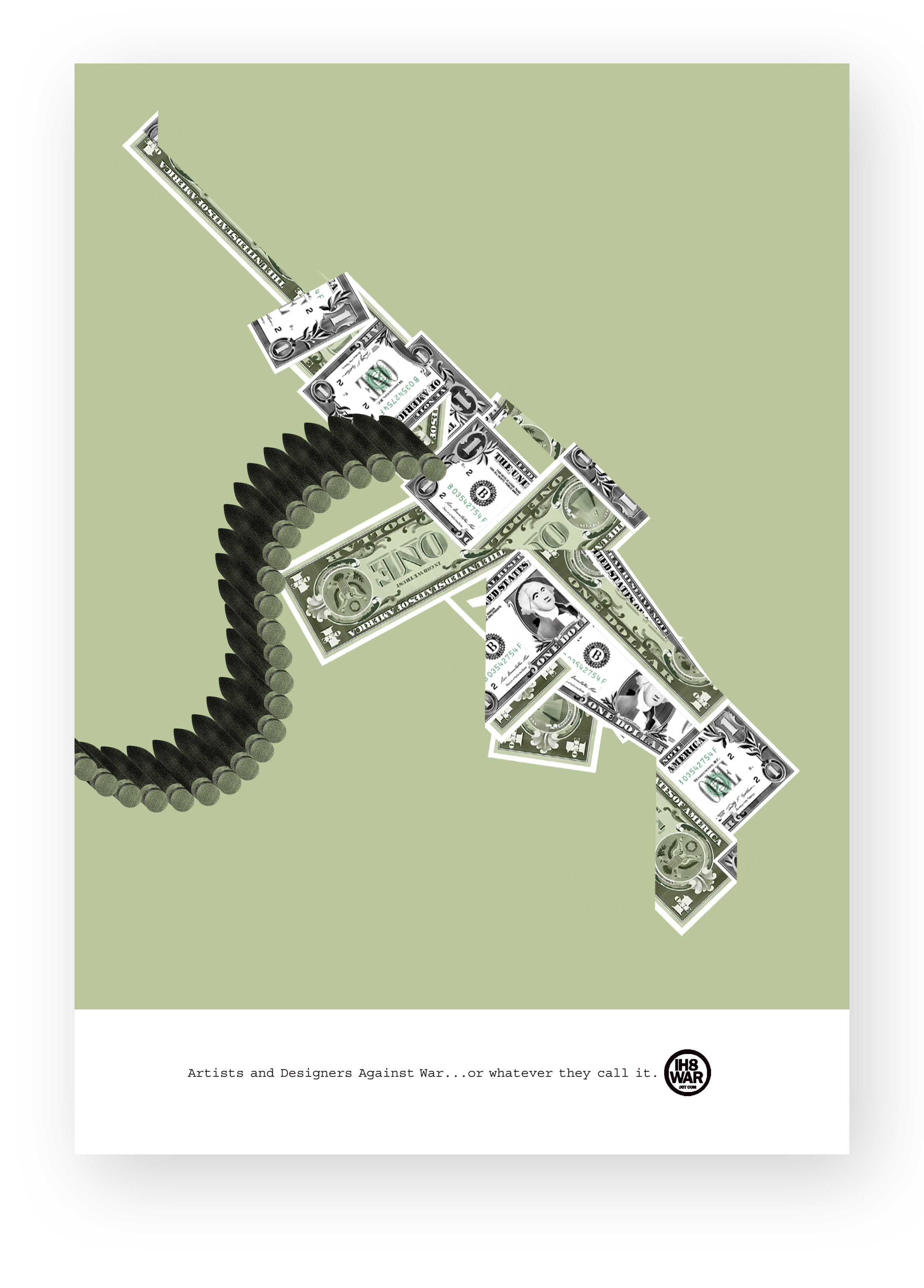 giulio bonasera war money conceptual illustration